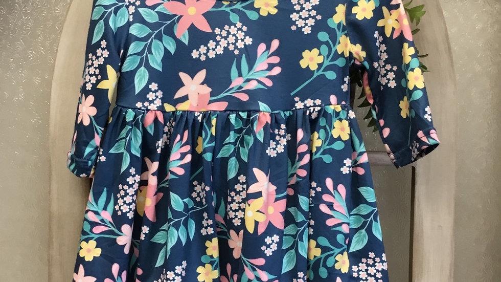 Vintage Flower Garden Dress