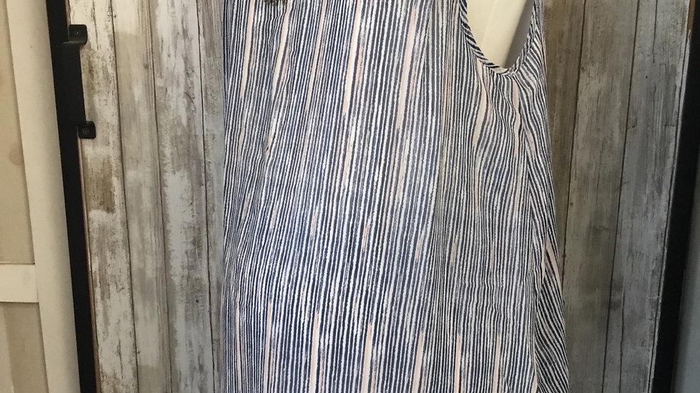 Striped Flowy Tunic