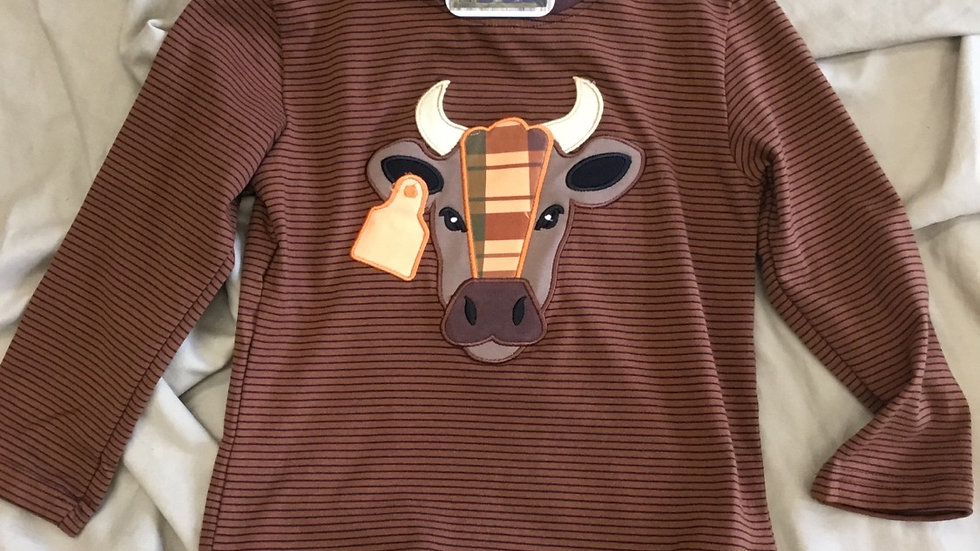 BullCow Appliqué Shirt
