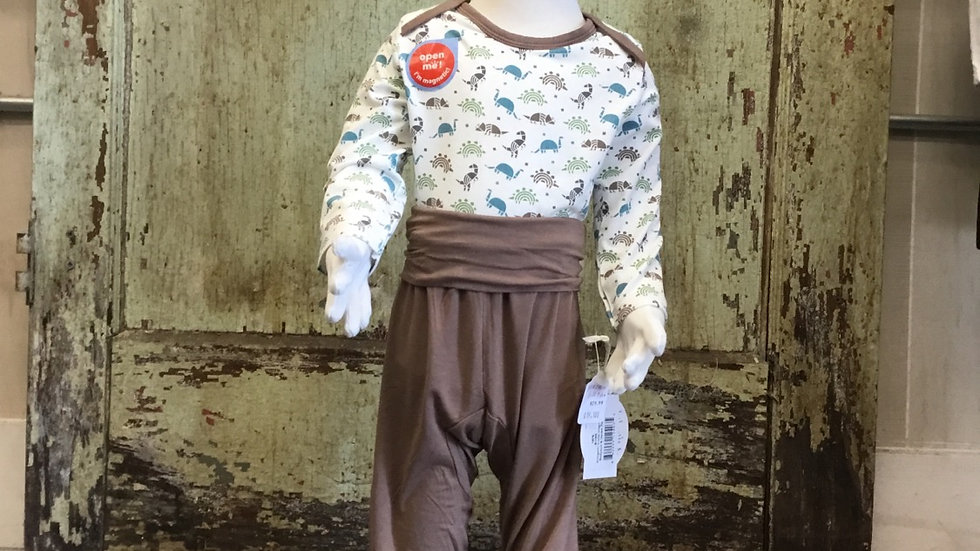Infant Boys Body Suit and Harem Pants