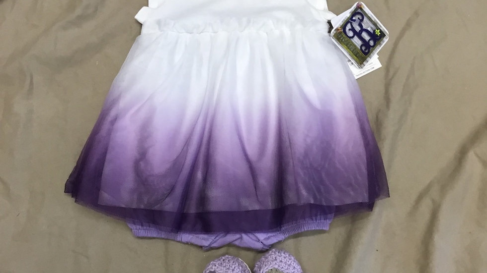 Lavender Tulle Dress
