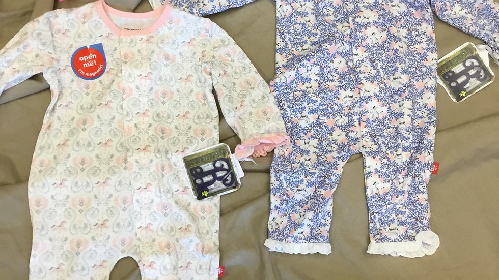 Carousel / Some Bunny / Butterfly/ Darlington Magnetic Coveralls