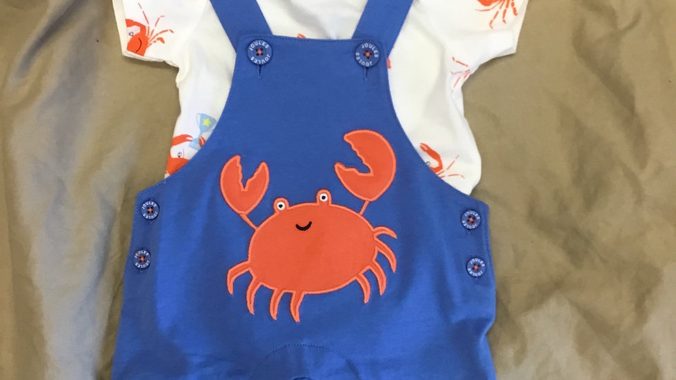 Blue Crab Overalls