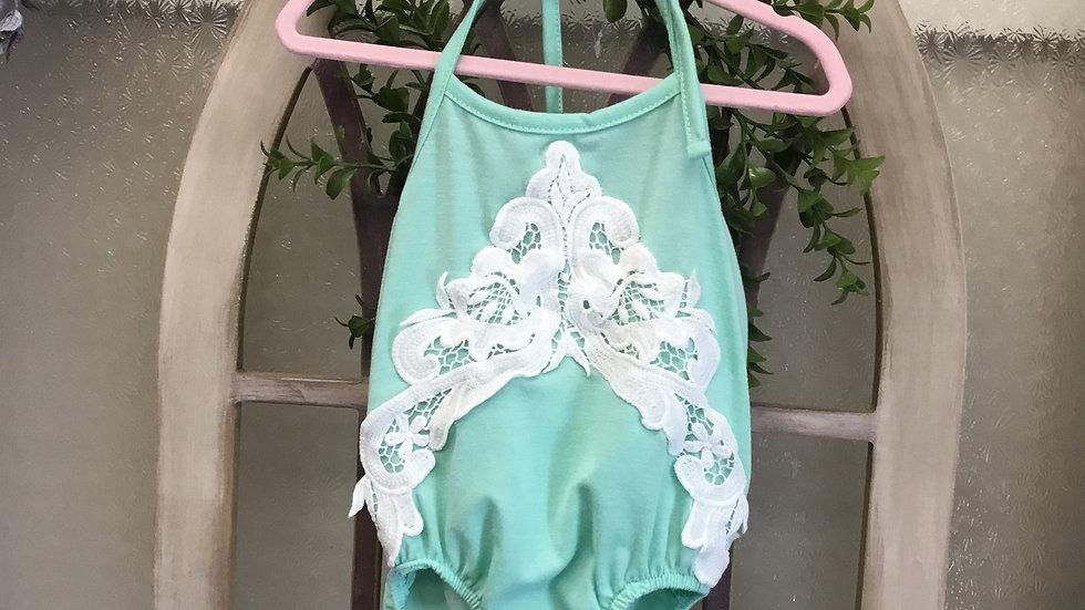 Sherbert Green Lace Bubble