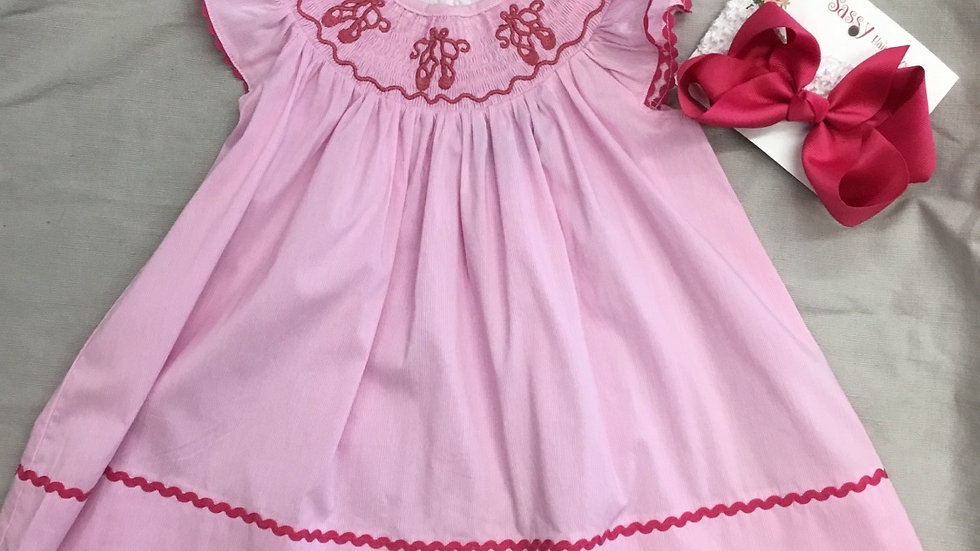 Smocked Ballerina Dress