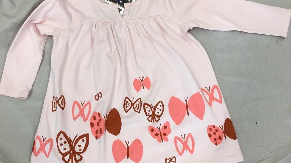 Pink Butterfly Garden Dress