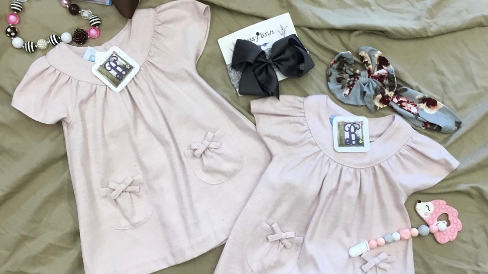 Baby Blush Pink Hayden Dress