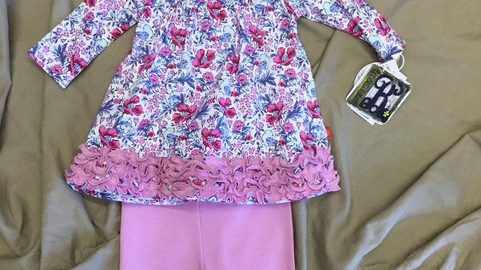Darlington Floral Organic Magnetic Dress and Pants