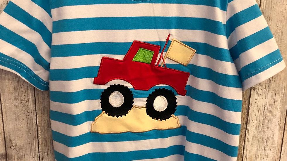 Boys  Rally Truck Appliqué