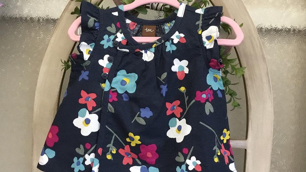 Navy Kimono Dress