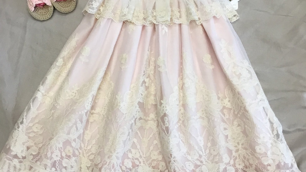 Elouise Frilly Frock Long Gown