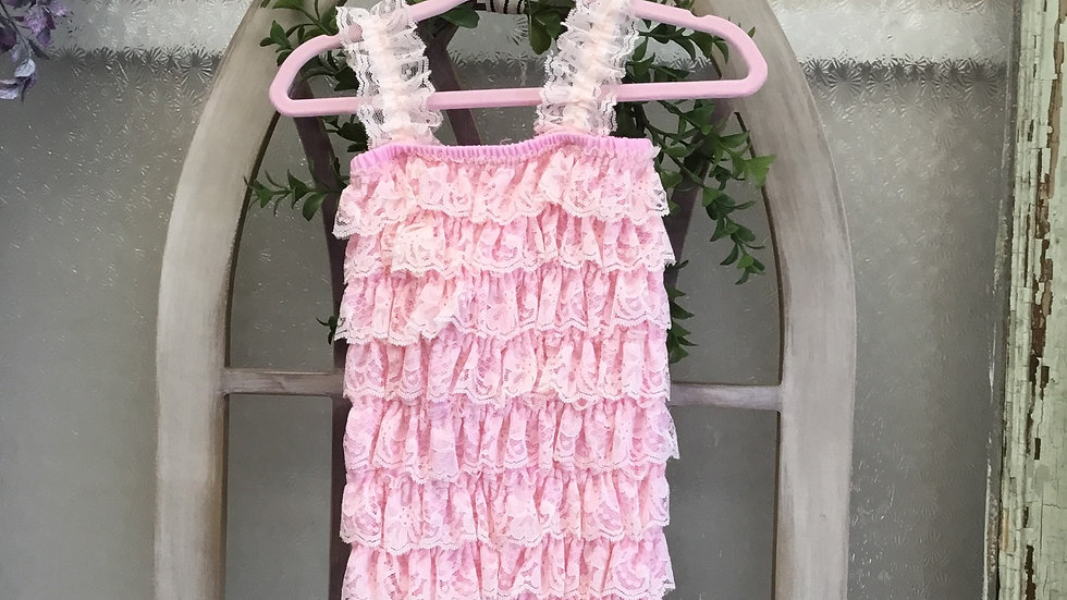 Ruffles and Lace Romper