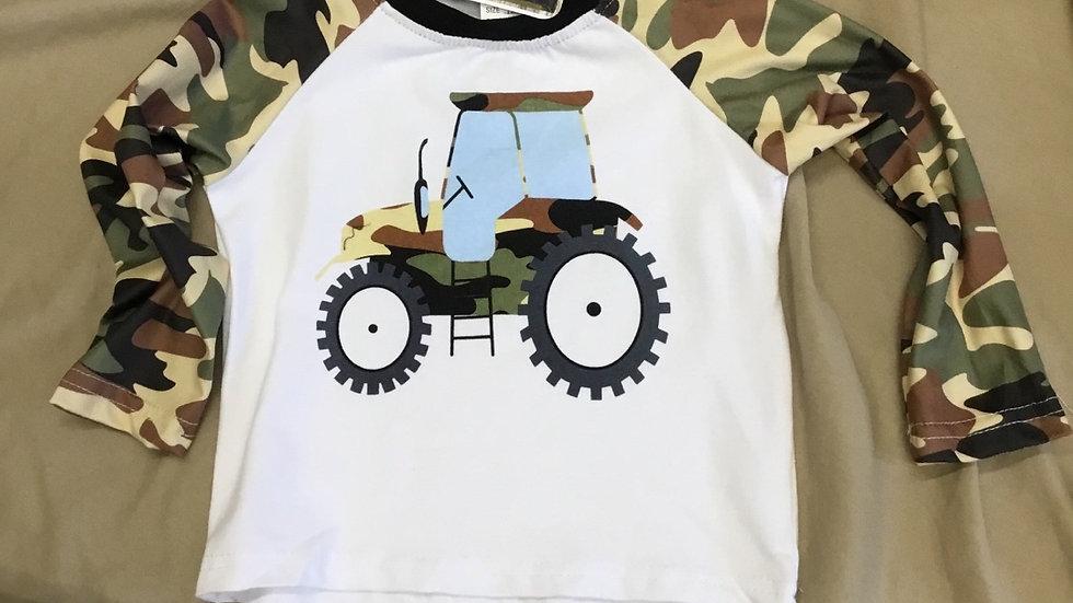 Camo Tractor Shirt
