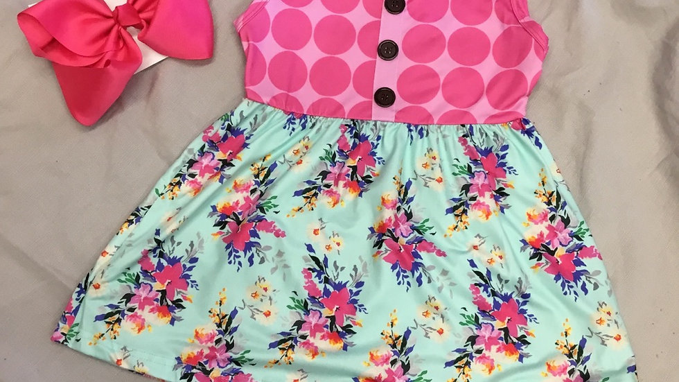 Polka Dotted Happiness Short Set