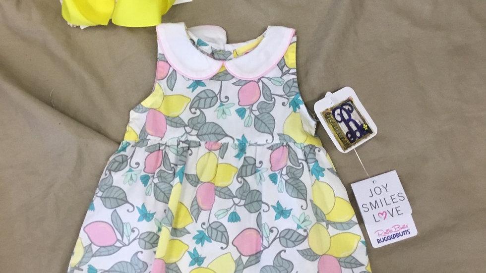 Ruffle Butts Make Leonade Dress
