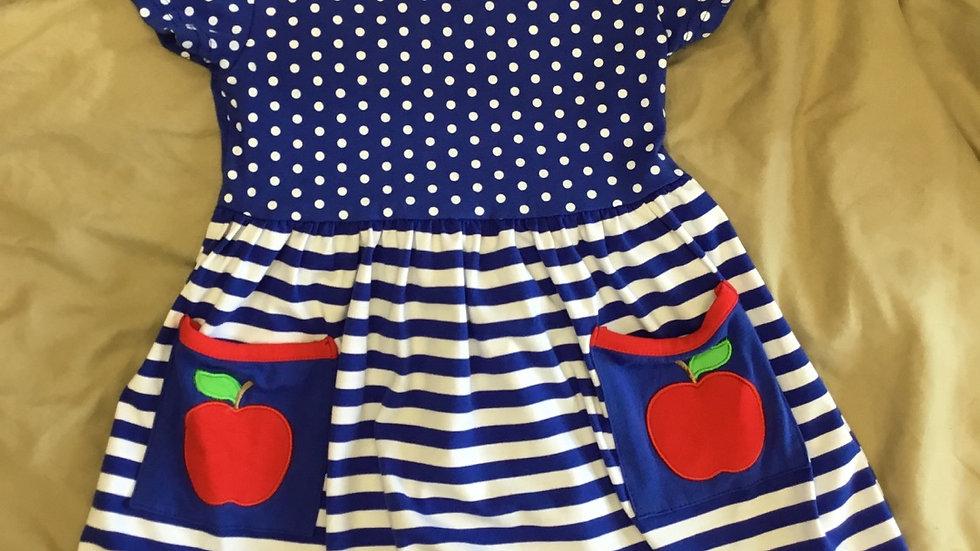 Apple Pockets and Polka Dots Dress