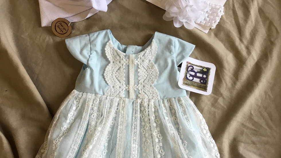 Sophie Frilly Frocks Bubble Lace Dress