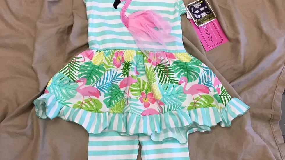 Flamingo Palm Set