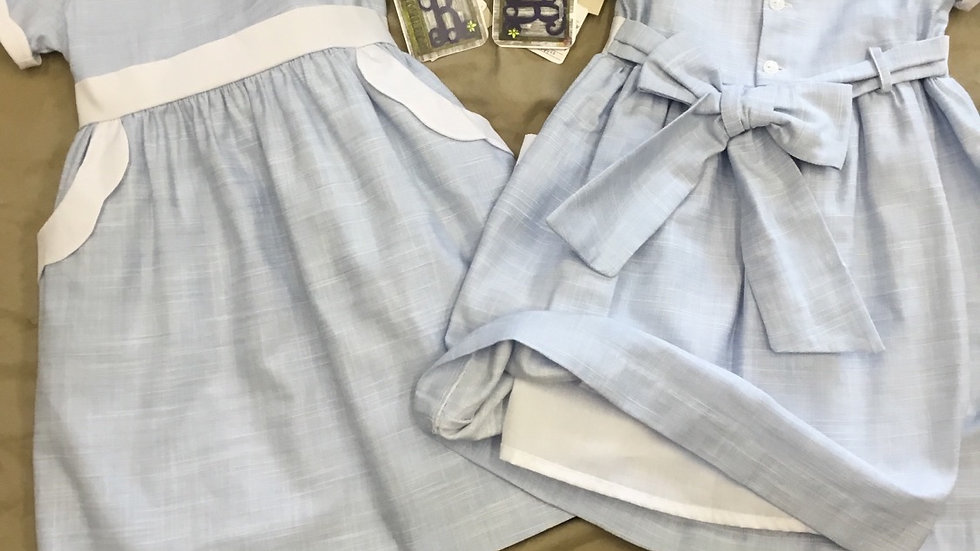 Carolina Scallop Dress