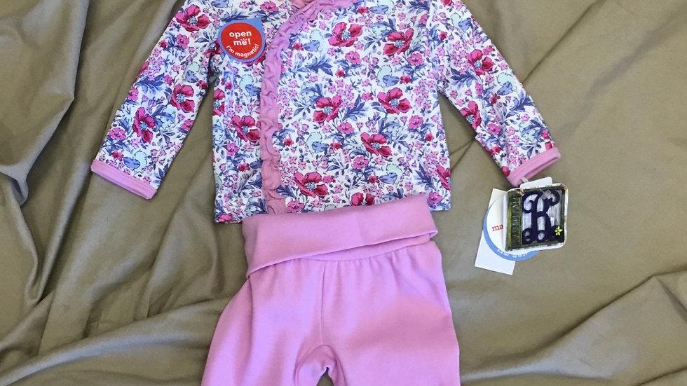 Darlington Floral 3 Piece Kimono Set