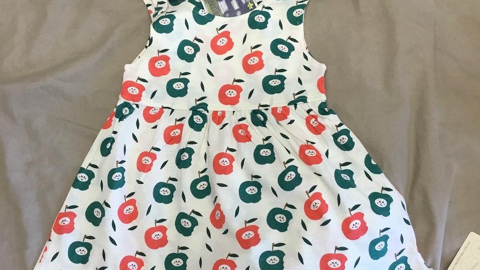 Apple Bow Knot Tank Dress