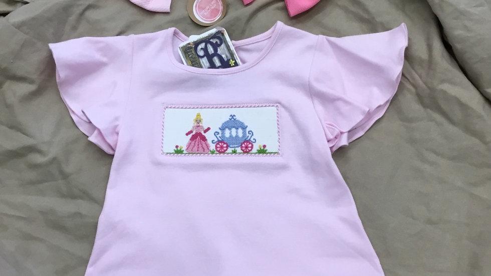Pretty Little Princess Smocked Shirt