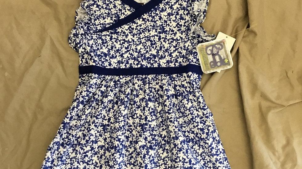 Cyprus Floral Banded Dress
