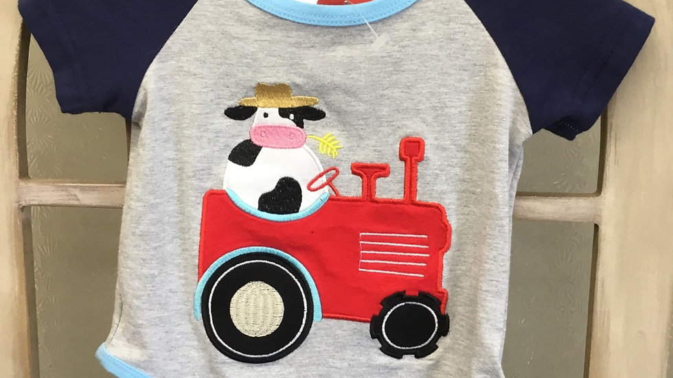 Infant Boys Farm Onsie