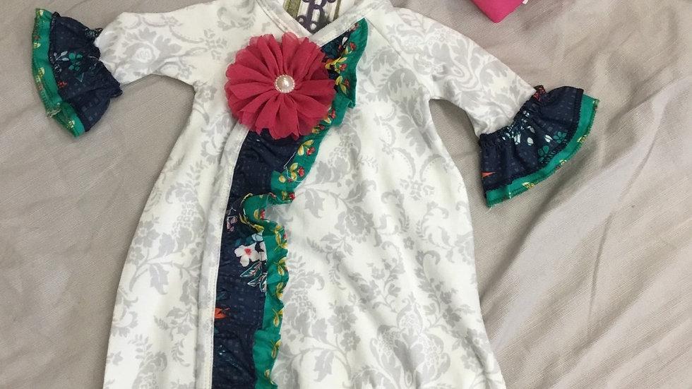 Floral Fancy Gown