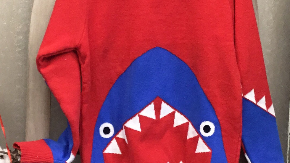 Boys Baby Shark Sweater