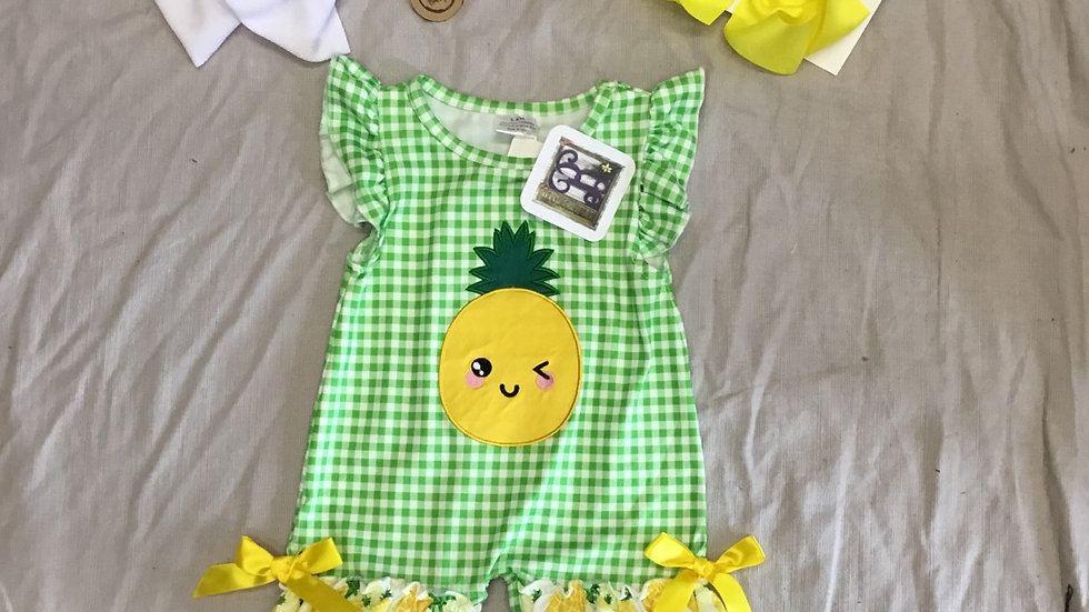 Happy Pineapple Romper