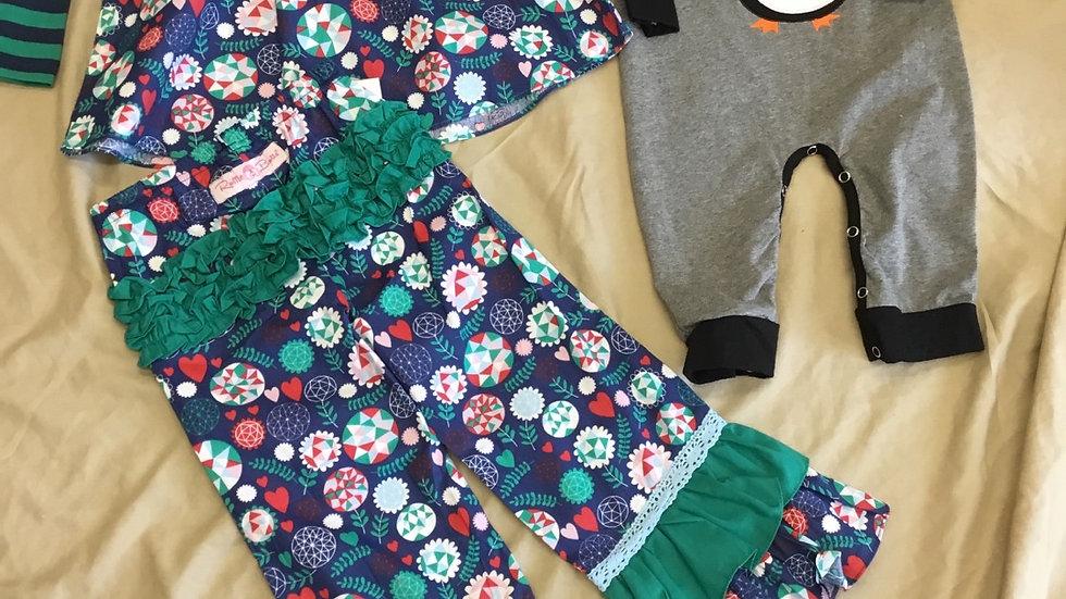 Ruffle Butts Brooklyn Bloom Pants