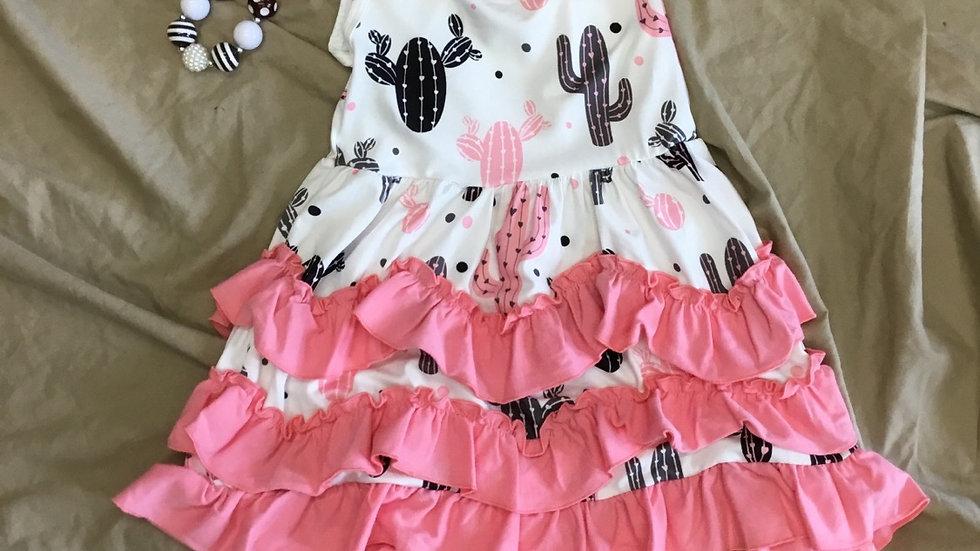 Pink Cactus Dress