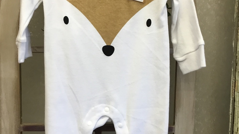 Infant Box Fox Onsie