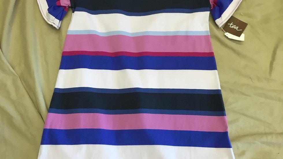 Plum Perfect Striped Dress