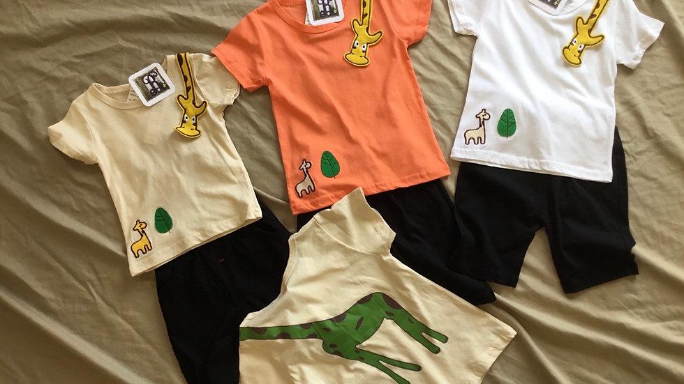 Giraffe Short Set