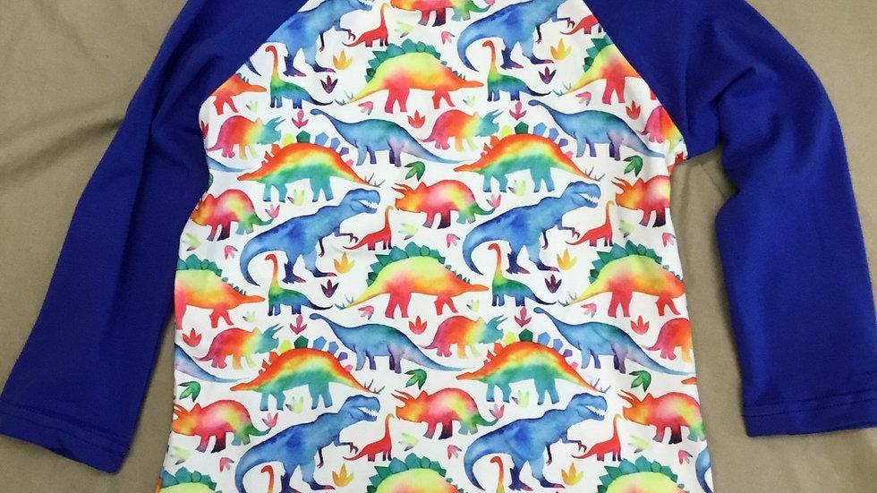 Rainbow Dino Shirt