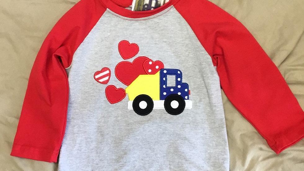 Boys Truck full of love