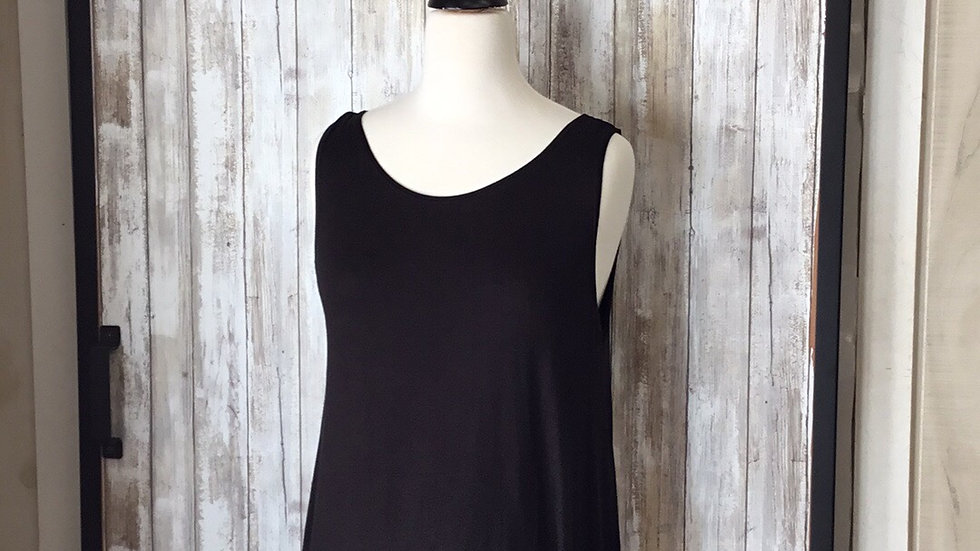 Soft Cotton Swing Tunic.  One size fits all.