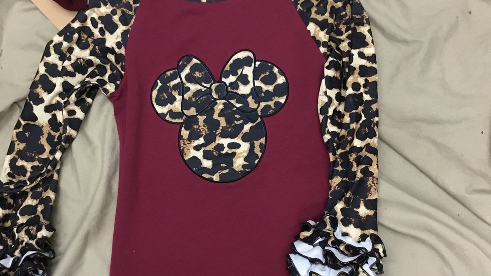 Cheetah Mickey Shirt