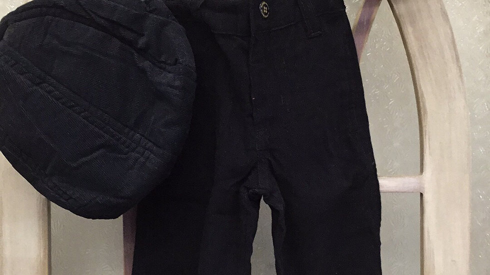 Infant/Boys Corduroy Pants (newsboy hat sold separate $9.99)