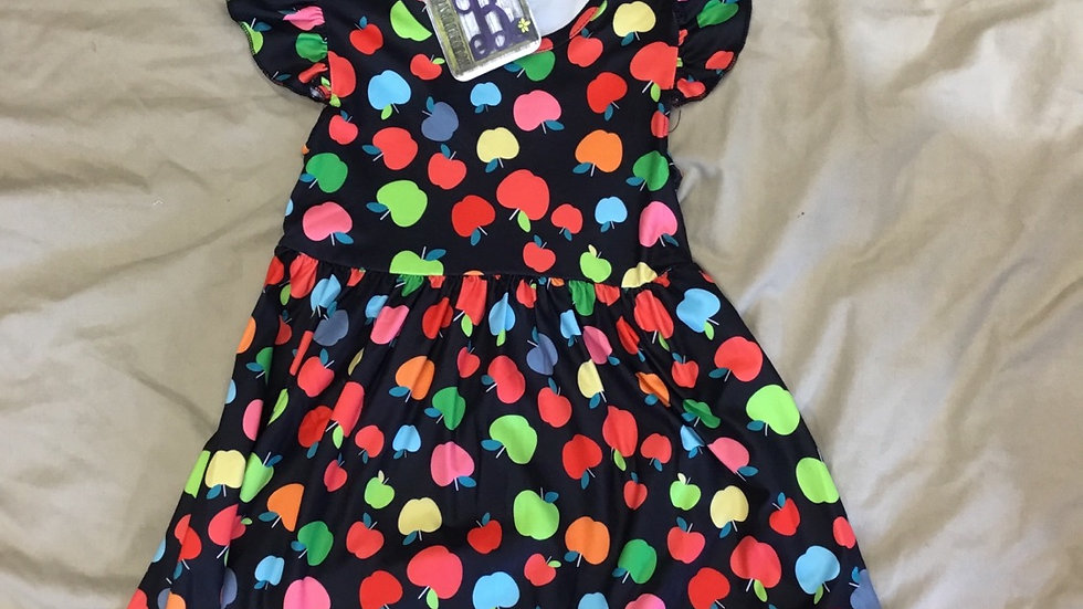 Bright Apples Dress