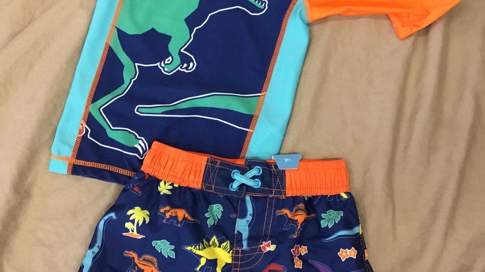Dino Swim Set