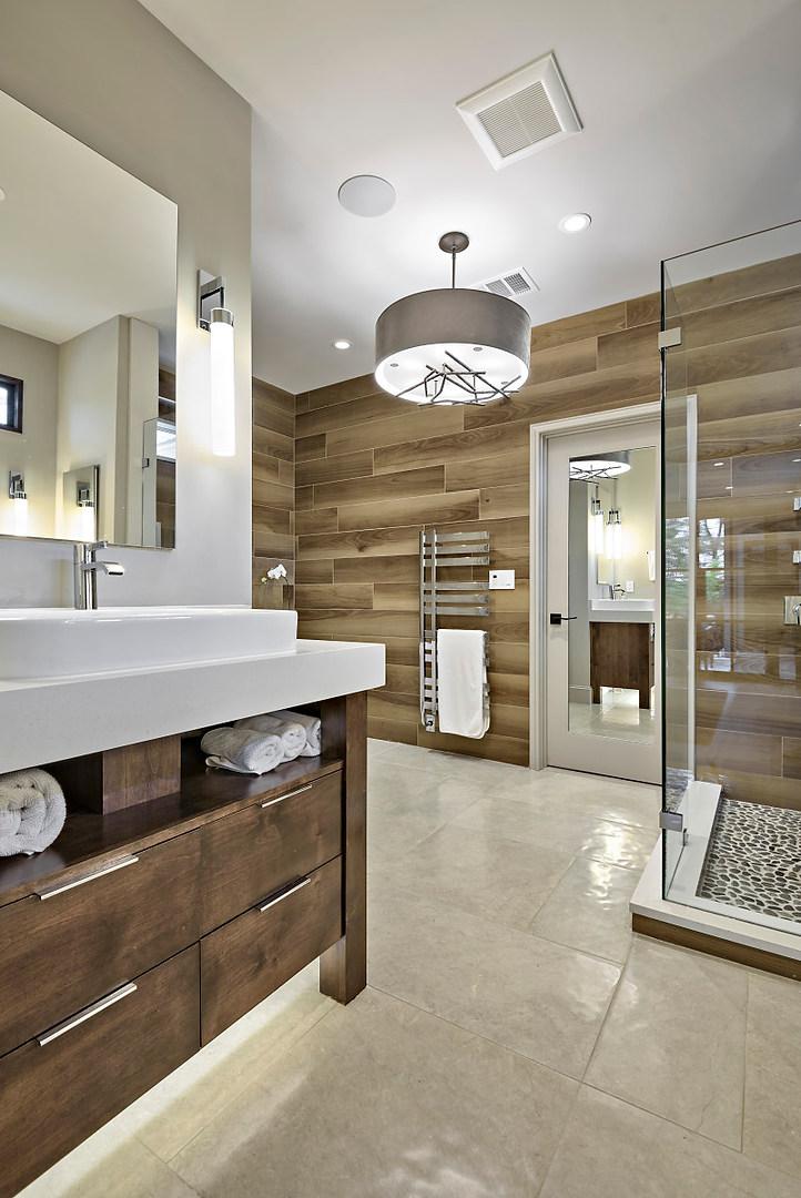 Historic Home Renovation Full Master Bathroom on Jarrett in Austin, TX