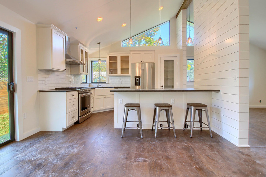 Home Renovation Kitchen on Bouldin in Austin, TX