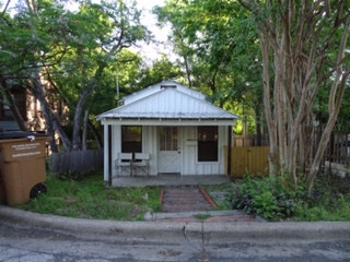 Before the Historic Home Renovation in West 11th in Austin, Texas