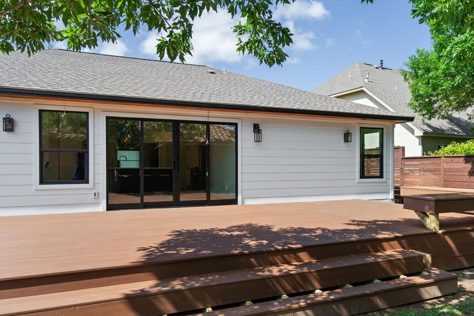 Home Renovation Deck on Lost Horizon in Austin, TX
