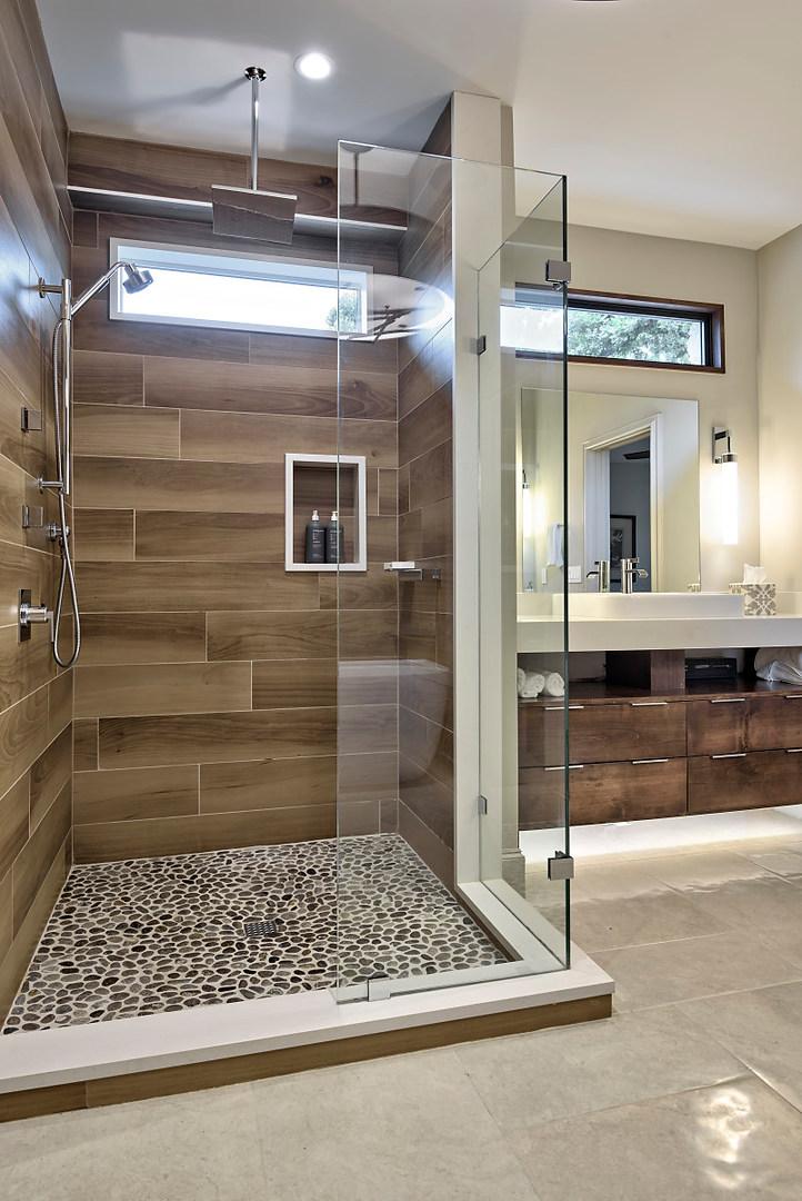 Historic Home Renovation Master Bathroom on Jarrett in Austin, TX