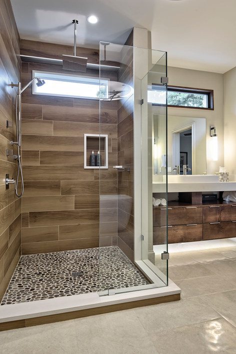 Historic Home Renovation Master Bathroom on Jarrett in Austin, TX