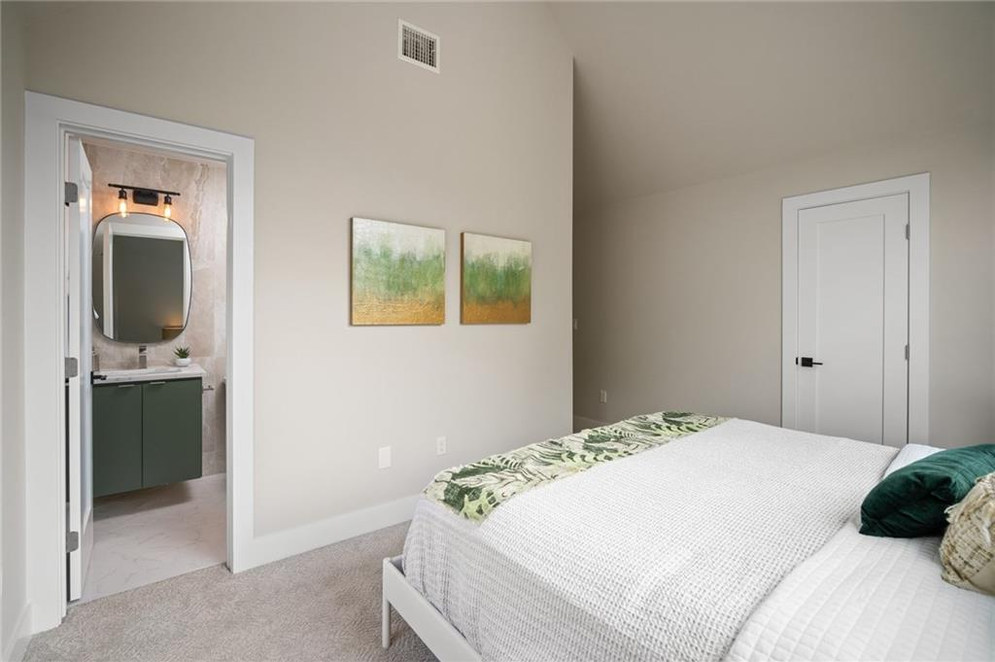 Master Suite in the New Build on Grover Street in Austin, TX